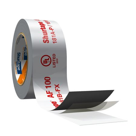 Shurtape Foil Tape 2 1 2 In X 60 Yd Silver Af 100