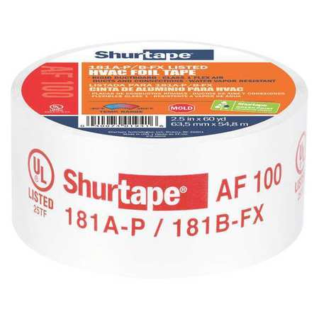 Foil Tape, 2 1/2 In. X 60 Yd., Silver