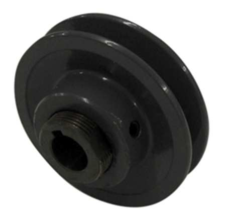 "1-1/8"" Fixed Bore 2 Groove Variable Pitch Pulley 3.5"" OD"