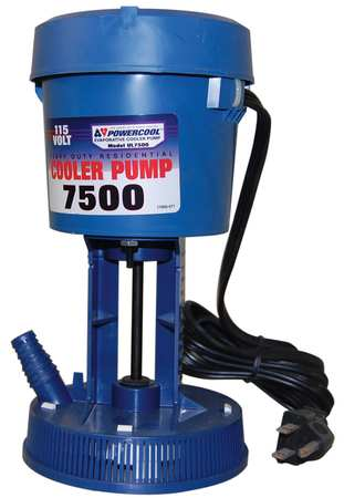 Re-Circulating Pump, 230, 240V, 0.75A
