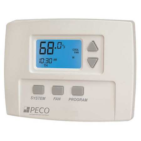 peco fan coil thermostat digital programmable ta180 001 zoro com fan coil thermostat digital programmable
