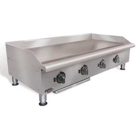 "26-3/4"" x 24"" x 15-1/2 Manual Gas Griddle"