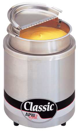 Round Countertop Warmer, 7 Qt