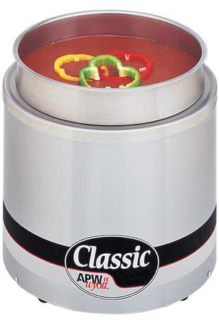Round Countertop Warmer, 11 Qt