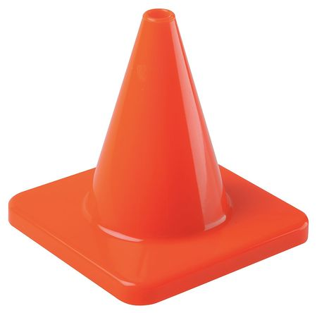 Traffic Cone, 4 In.Orange