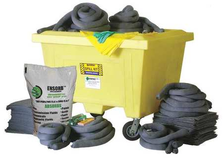 Spill Kit,  Chem/Hazmat,  Yellow