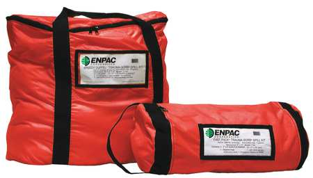Biohazard Spill Kit, Duffel Bag, Red