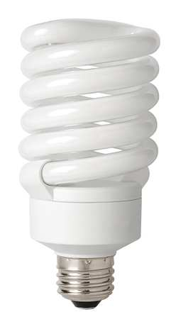Screw-In CFL, Non-Dimmable, 2700K, 5 In. L