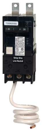 2P GFCI Bolt On Circuit Breaker 20A 120/240VAC