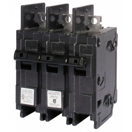3P High Interrupt Capacity Circuit Breaker 80A 240VAC