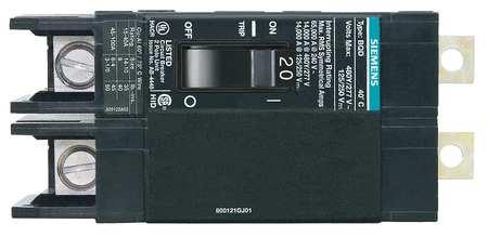 2P Standard Bolt On Circuit Breaker 20A 277/480VAC