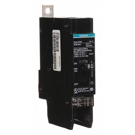 1P Standard Bolt On Circuit Breaker 80A 277VAC