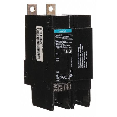 2P Standard Bolt On Circuit Breaker 60A 277/480VAC