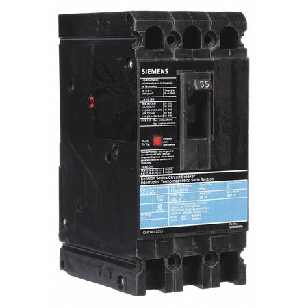 3P Standard Circuit Breaker 35A 480VAC