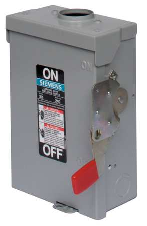 200 Amp 240VAC Single Throw Safety Switch 3P