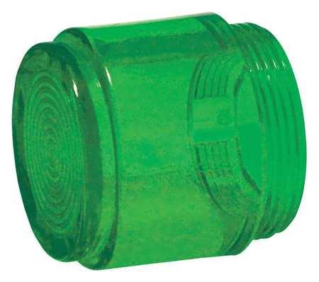 Push Button Cap, Illuminated, 30mm, Green