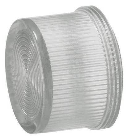 Pilot Light Lens, 30mm, Clear, Plastic