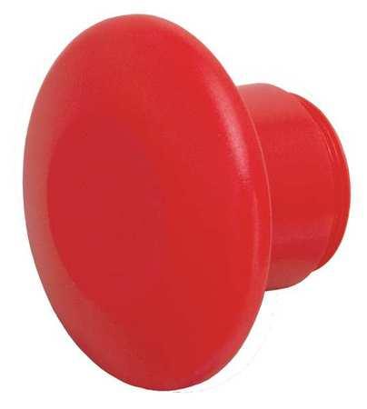 Mushroom Head, 30mm, Red, Plastic