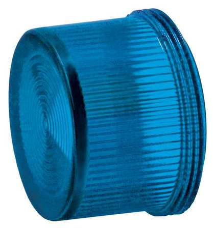 Pilot Light Lens, 30mm, Blue, Plastic