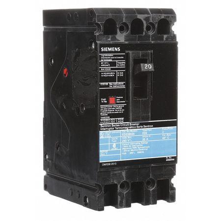 3P Standard Circuit Breaker 20A 240VAC