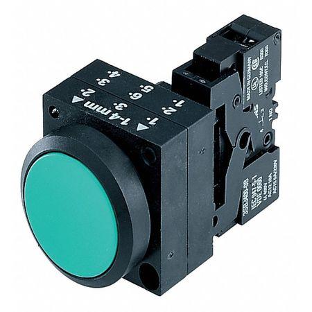 Non-Illuminated Push Button, 22mm, Plastic