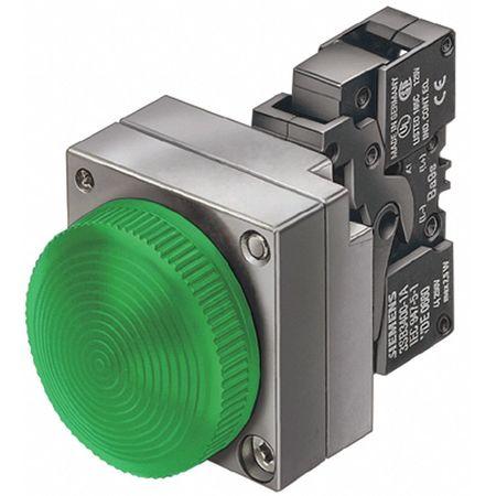 Pilot Lt Complete, LED, 24V, 22mm, Metal, GR