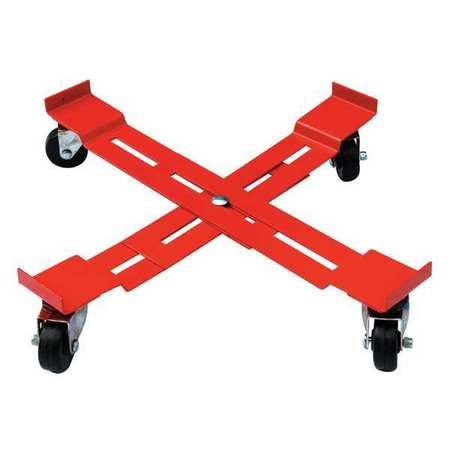 Adjustable Drum Dolly, 1000 lb, 5-3/8 In H