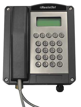 Hazardous Area Telephone, Black