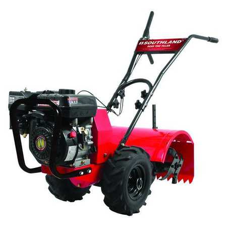 Rear Tine Tiller, 196cc, 10 In. Depth