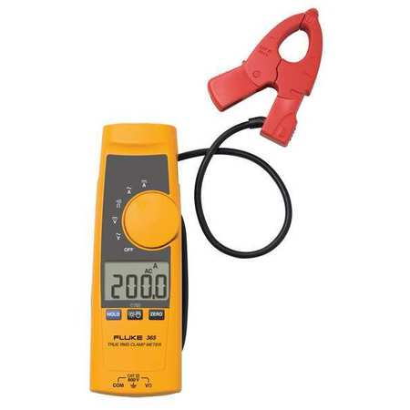 Detachable Jaw Clamp Meter, 200A, TRMS