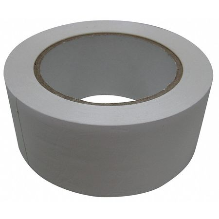 Safety Warning Tape, Roll, 108 ft., White