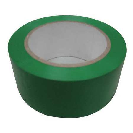Safety Warning Tape, Roll, 108 ft., Green