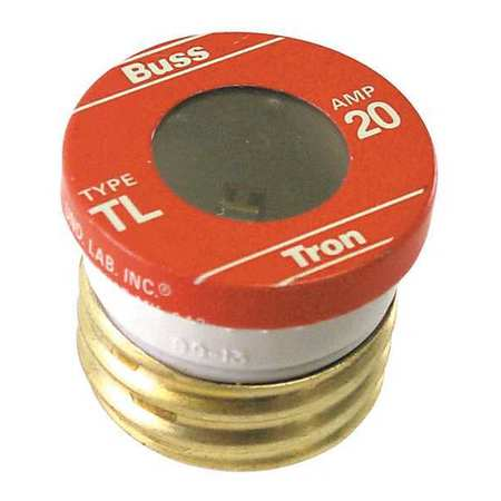 20A Time Delay Ceramic Branch Circuit Fuse 125VAC 4PK