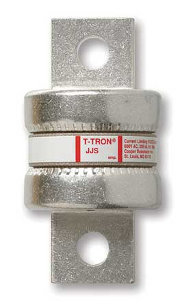 125A Fast Acting Bolt-On Melamine Class T Fuse 600VAC