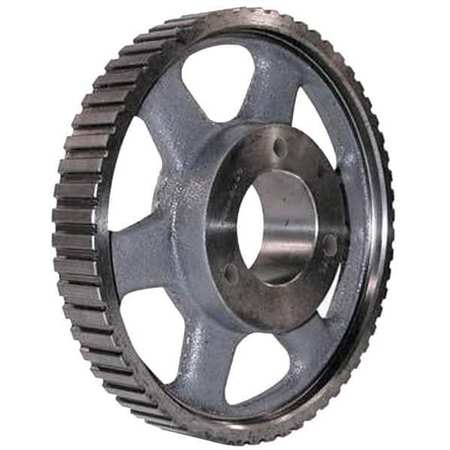 Gearbelt Pulley, H,  72 Grooves