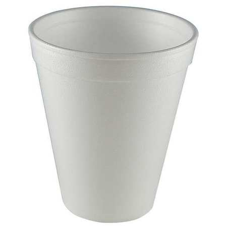 White Disposable Cold/Hot Cup 12 oz.,  Pk1000