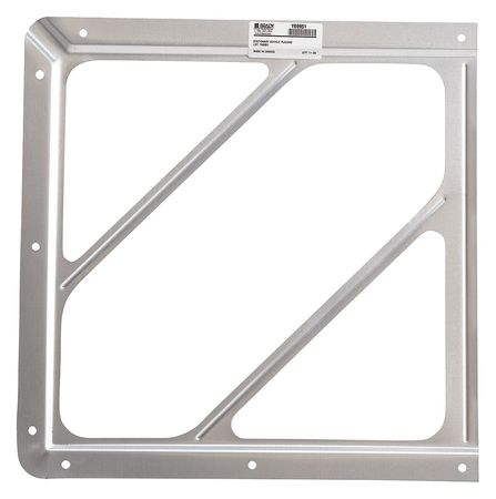Front Plate Placard Holder, 10-4/5 In.H