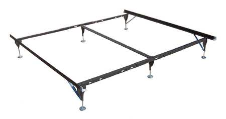 Bed Frame, Capacity 500 lb., Twin to King