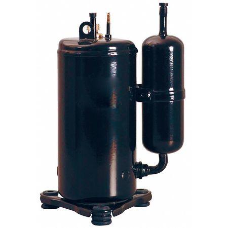 A/C Compressor,  R22, 11, 350 BTU, 208/230V