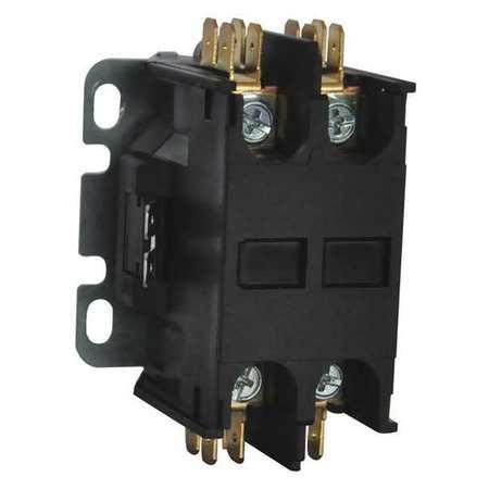 24VAC Non-Reversing Definite Purpose Contactor 2P 25A