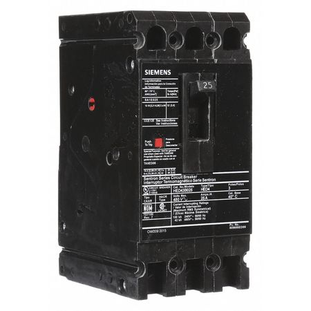 3P Standard Circuit Breaker 25A 480VAC