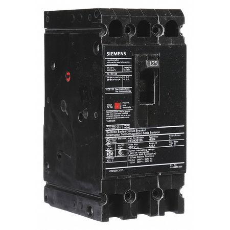 3P Standard Circuit Breaker 125A 480VAC