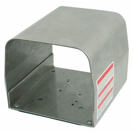 Foot Switch Guard, SS, 6.50x5.91x4.92