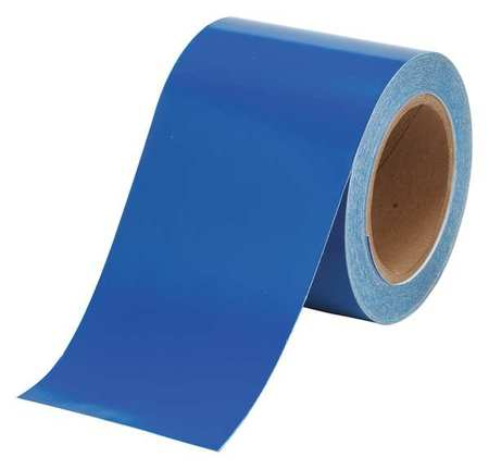 Banding Tape, Blue, 4 In. W, 90 ft. L