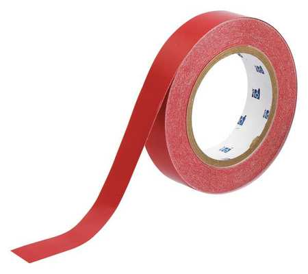 Banding Tape, Red, 1 In. W, 90 ft. L