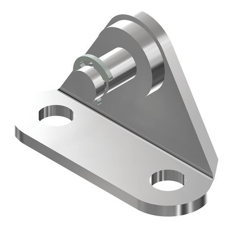 Bracket 900BA14SR,  E-Clip 6mm