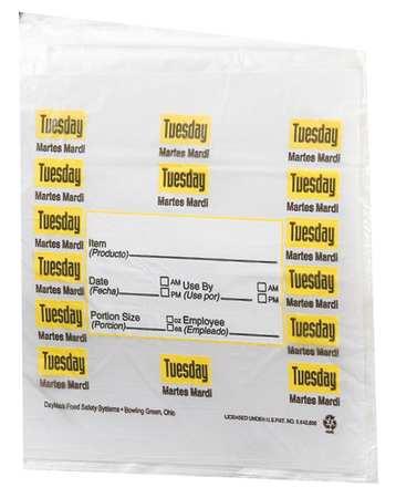 Day Portion Bag, Tuesday, PK2000