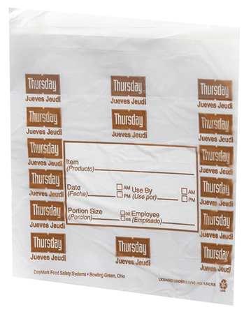 Day Portion Bag, Thursday, PK2000
