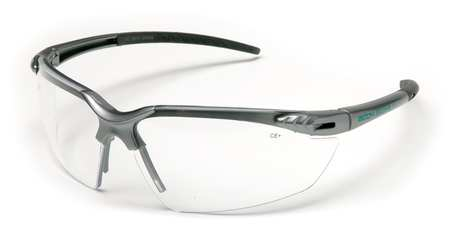 Body Glove Clear Safety Glasses,  Scratch-Resistant,  Half-Frame