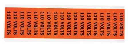 Voltage Card, 18 Marker, 110 Volts